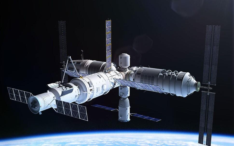 Китай к 2023 году планирует вывести на орбиту свою космическую станцию