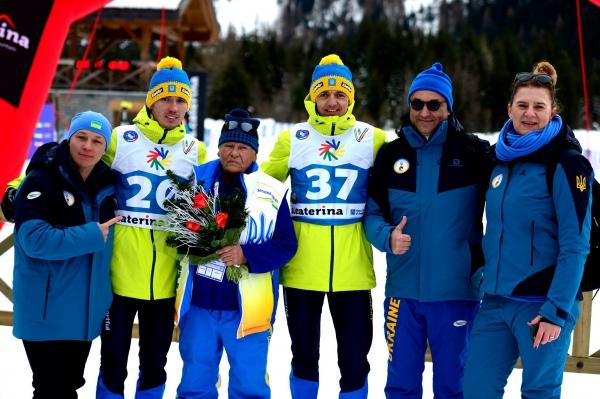Украина заняла третье место на зимних Дефлимпийских играх-2019