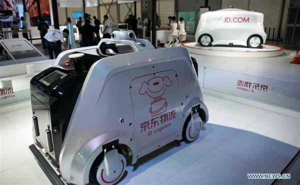 В Пекине стартовала Всемирная конференция роботов (фото)