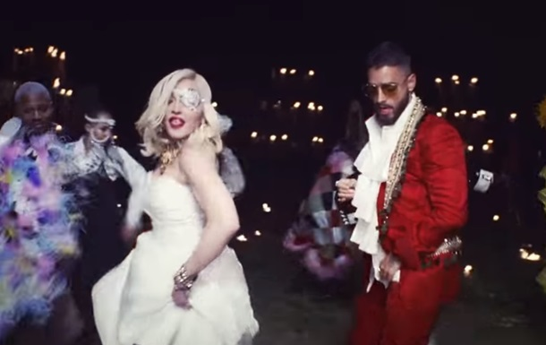 Мадонна презентовала клип впервые за четыре года