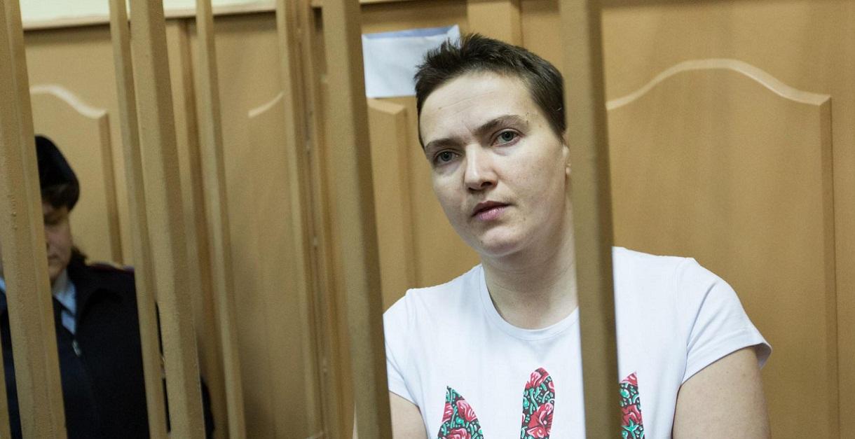 Савченко начала сухую голодовку и, в случае смерти, запретила вскрывать...