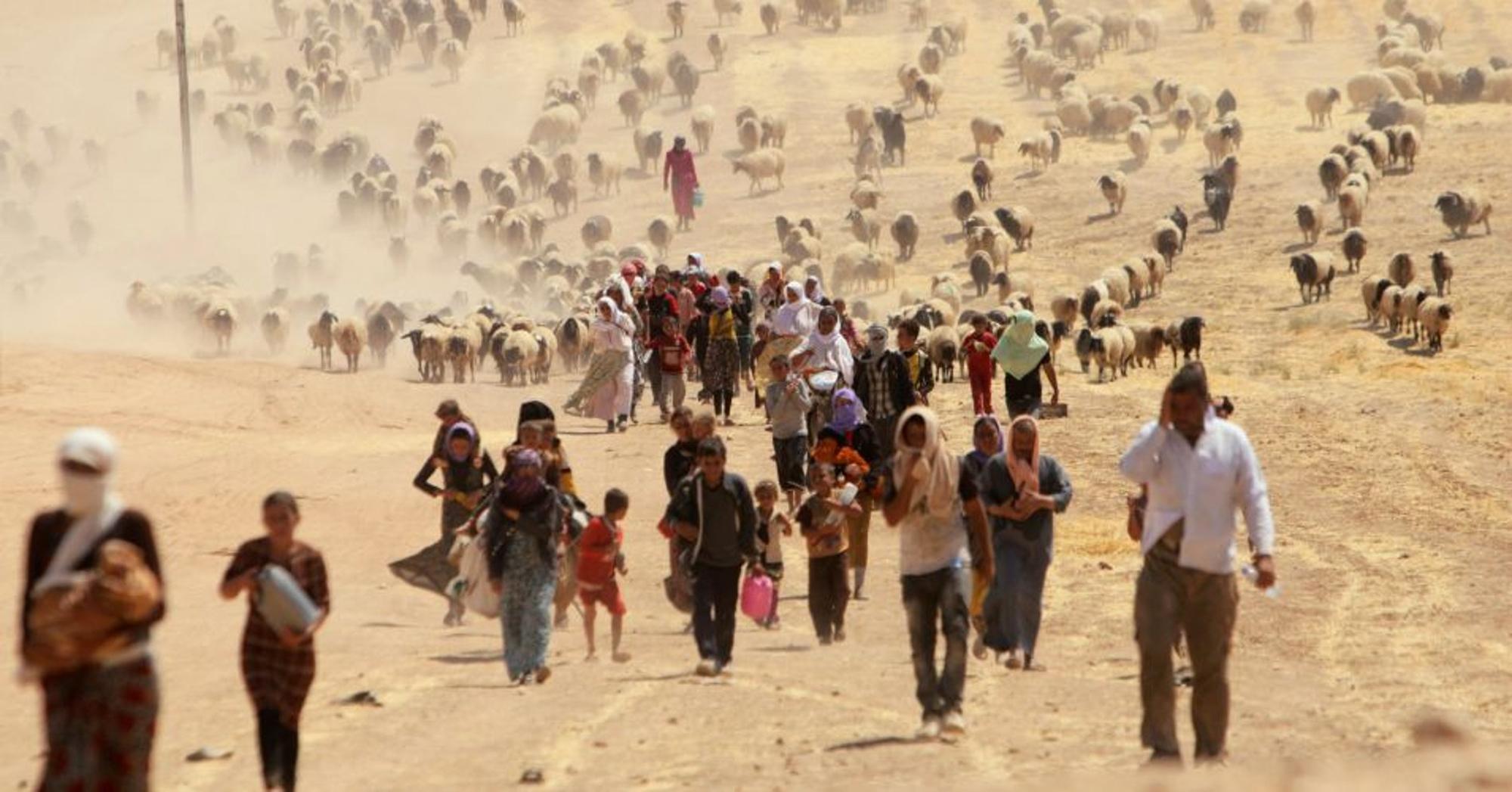 Исследование: глобальное потепление породит 143 млн климатических беженц...