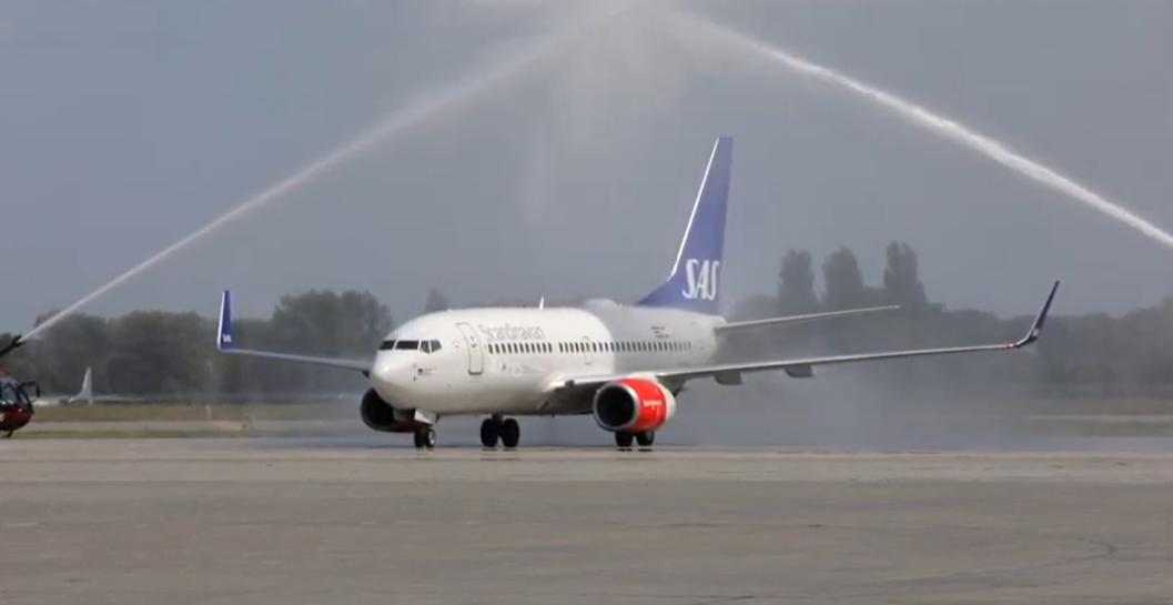 Авиакомпания SAS возобновила регулярные полеты в Киев