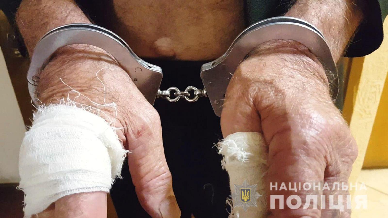 78-летний дед-потрошитель зарезал троих людей в Одессе