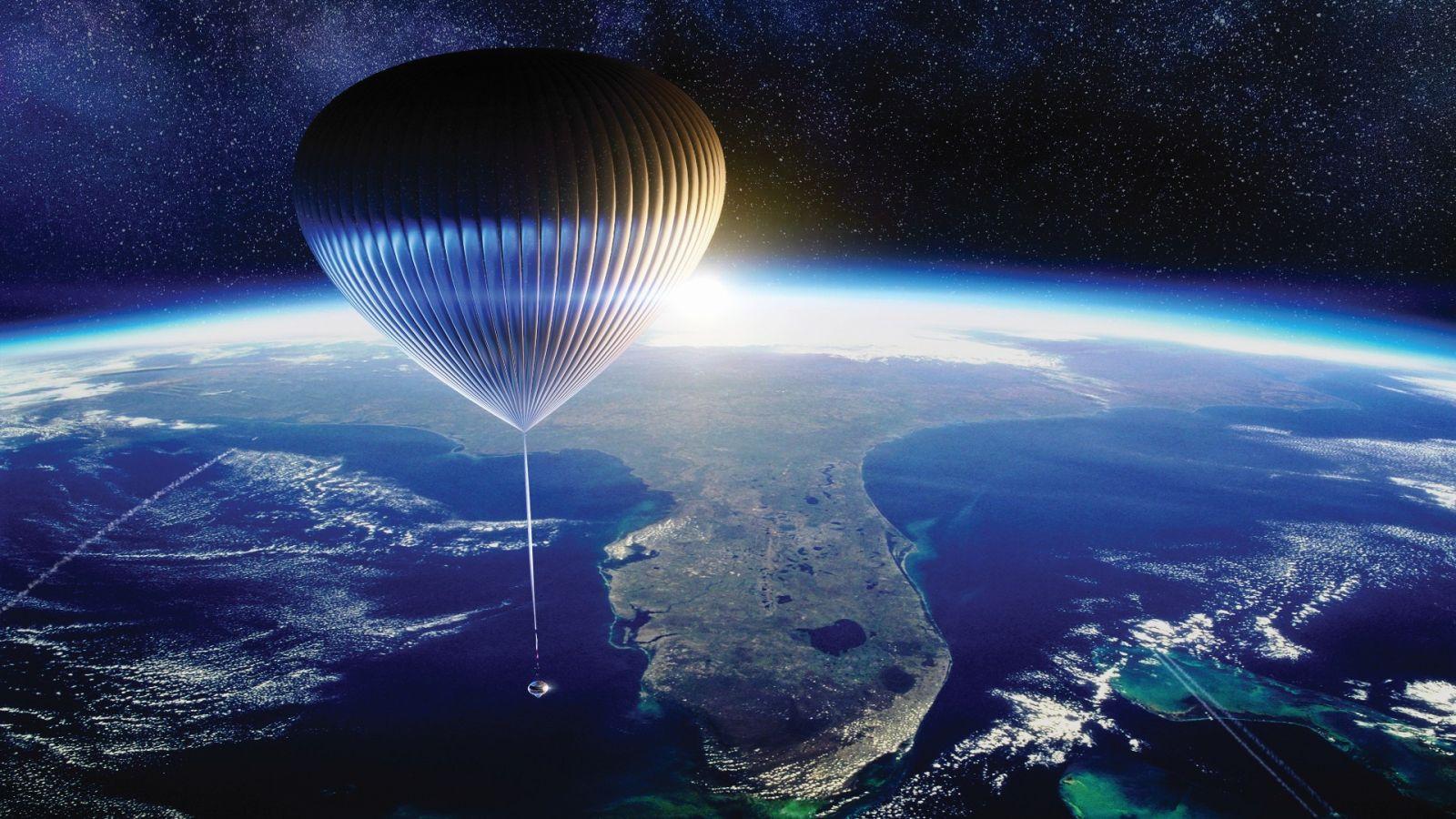 Американская компания хочет катать туристов в космос на воздушном шаре