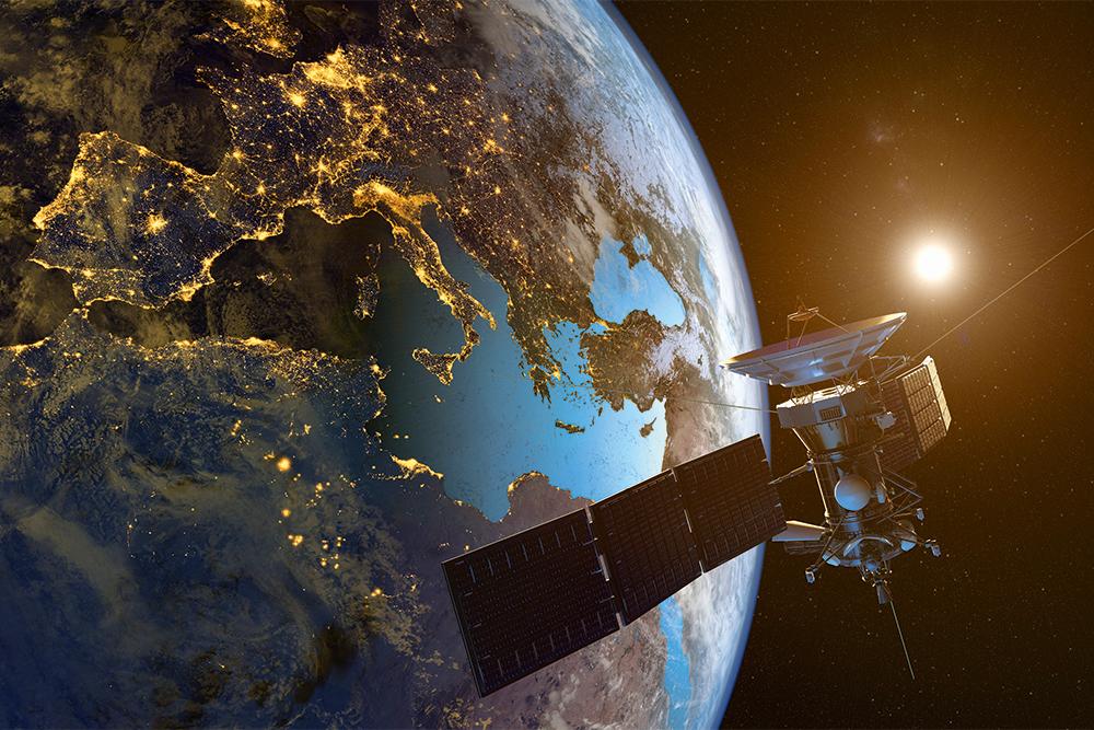 интернет, спутник, SpaceX, Илон Маск, орбита, карта Европы