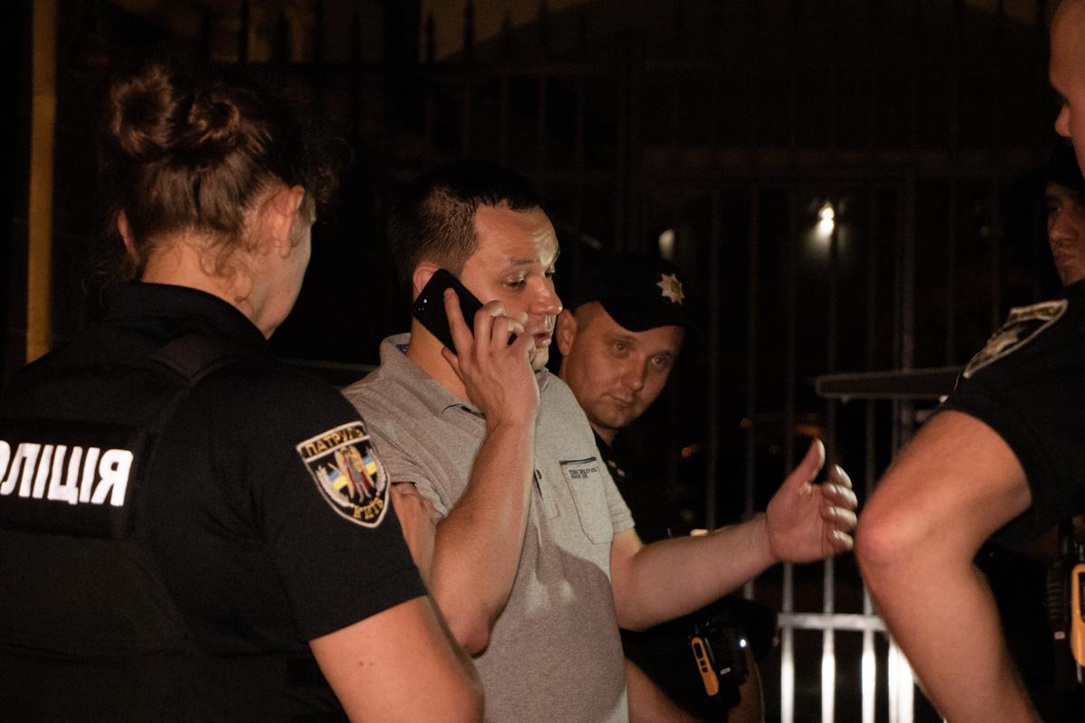 Пьяный водитель Hyundai в Киеве угрожал полицейским связями с Зеленским