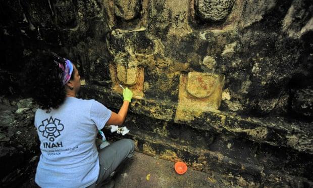 В Мексике обнаружен гигантский дворец майя