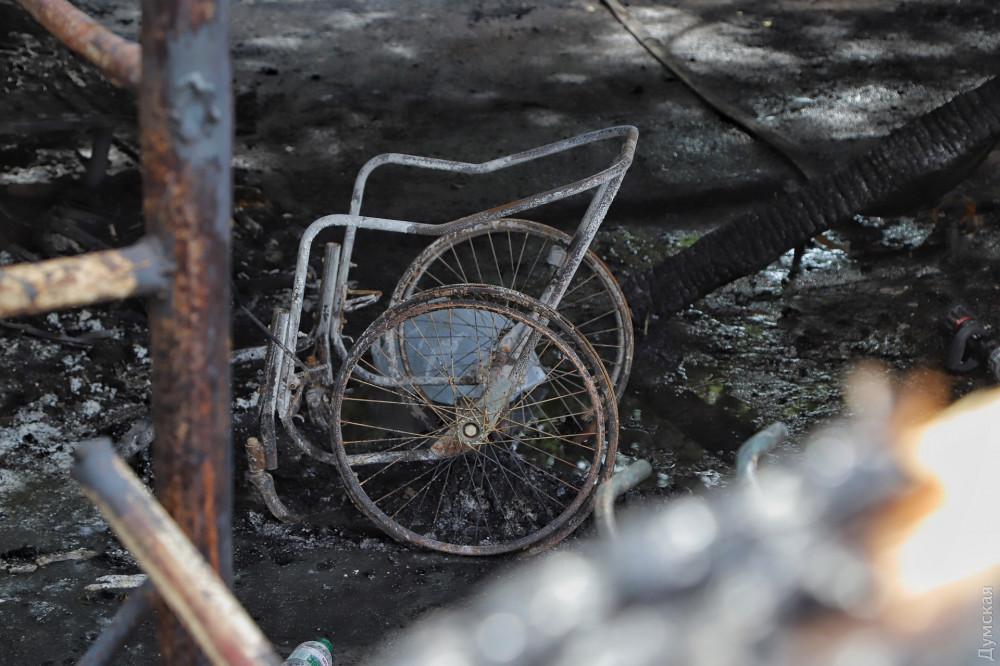 Пожар в Одессе: Объявлен траур по погибшим в психбольнице