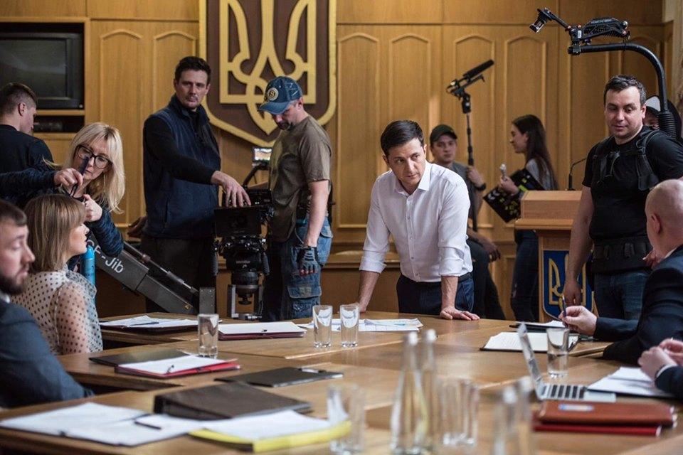 Зеленский пообещал сделать Украину кинематографическим государством