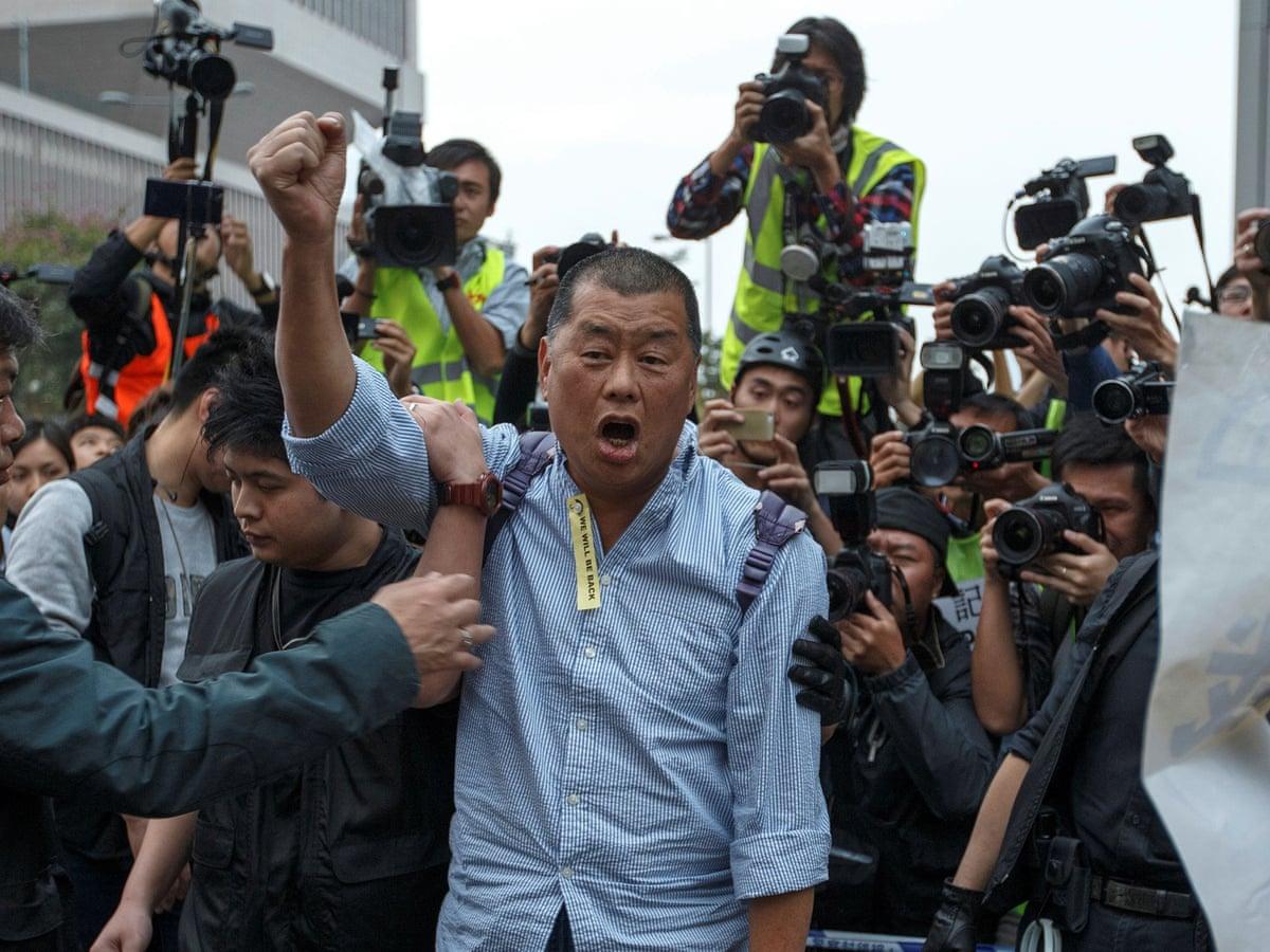 Миллионера Джимми Лая приговорили к 14 месяцам тюрьмы за организацию протестов в Гонконге