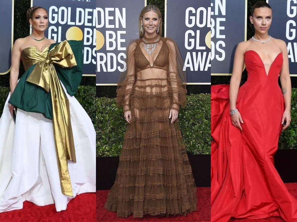 Золотой глобус 2020. Самые роскошные и спорные наряды красной дорожки