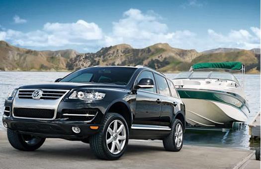 "Volkswagen выставит на \""Дакар-2010\"" пять раллийных Touareg"