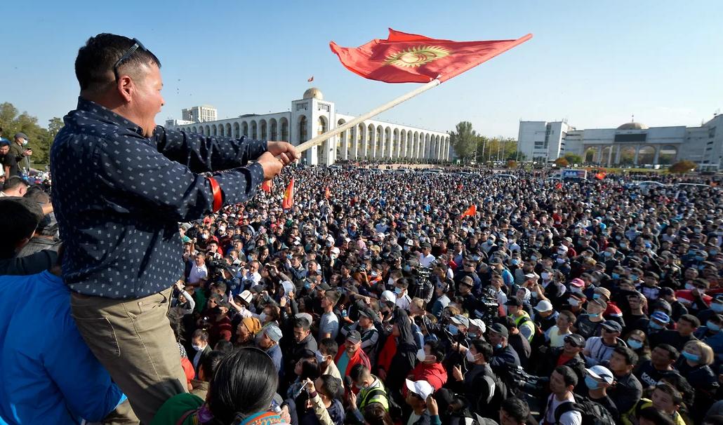 Результат протестов: ЦИК Кыргызстана признал прошедшие парламентские выб...
