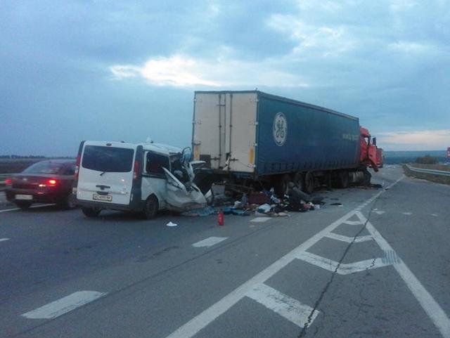 В ДТП на трассе Киев-Одесса погибли 8 человек