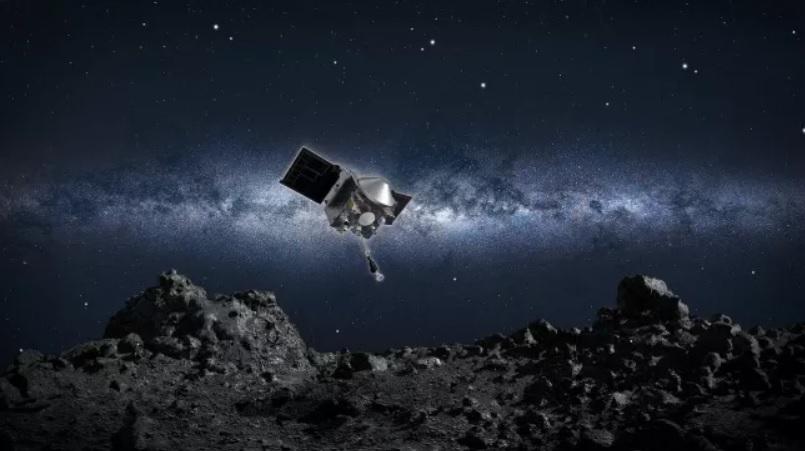 NASA попробует посадить 50-метровый зонд в астероидный кратер шириной 8...