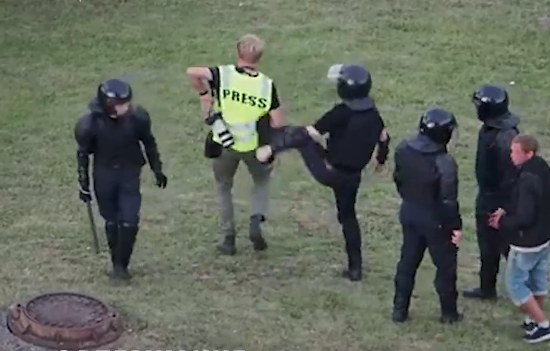 МВД Беларуси смягчило политику задержаний журналистов