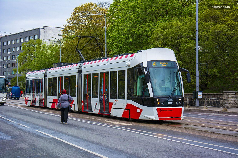Cреди безбилетников-иностранцев в общественном транспорте Таллина больше...