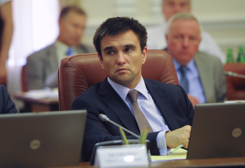 Рада не поддержала отставку Климкина