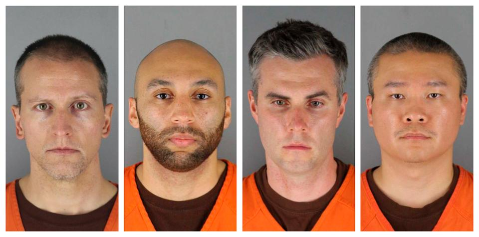 Два копа, подозреваемых в убийстве Джорджа Флойда, проработали в полиции...