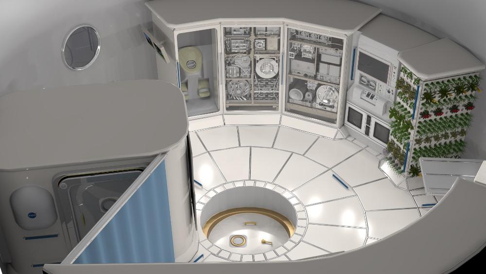 """NASA сделало заказ на два проекта """"умных"""" жилищ для Луны и Марса"""