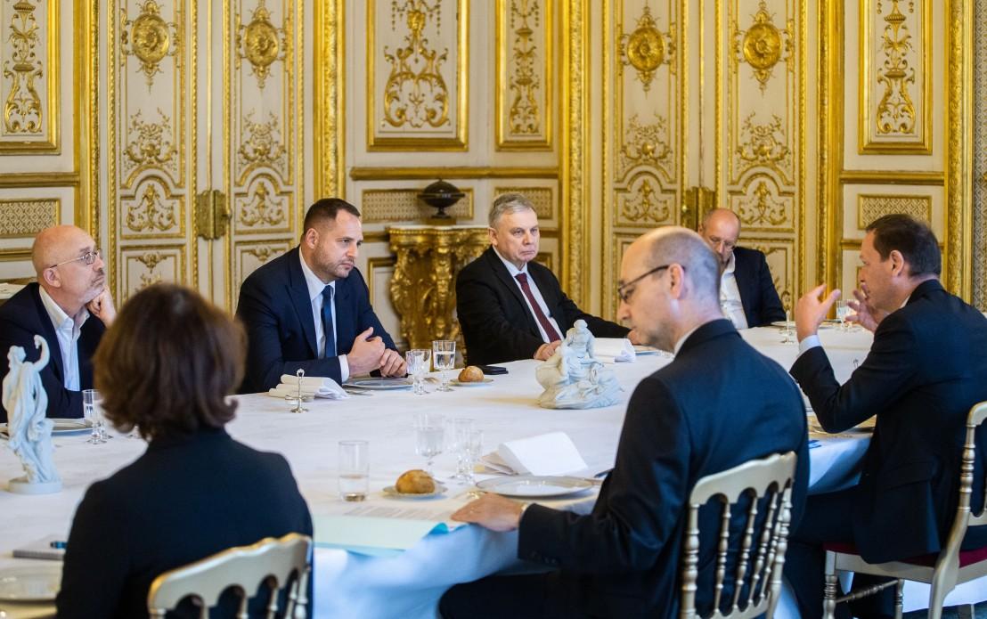 Ермак в Париже обсудил подготовку визита Макрона в Украину