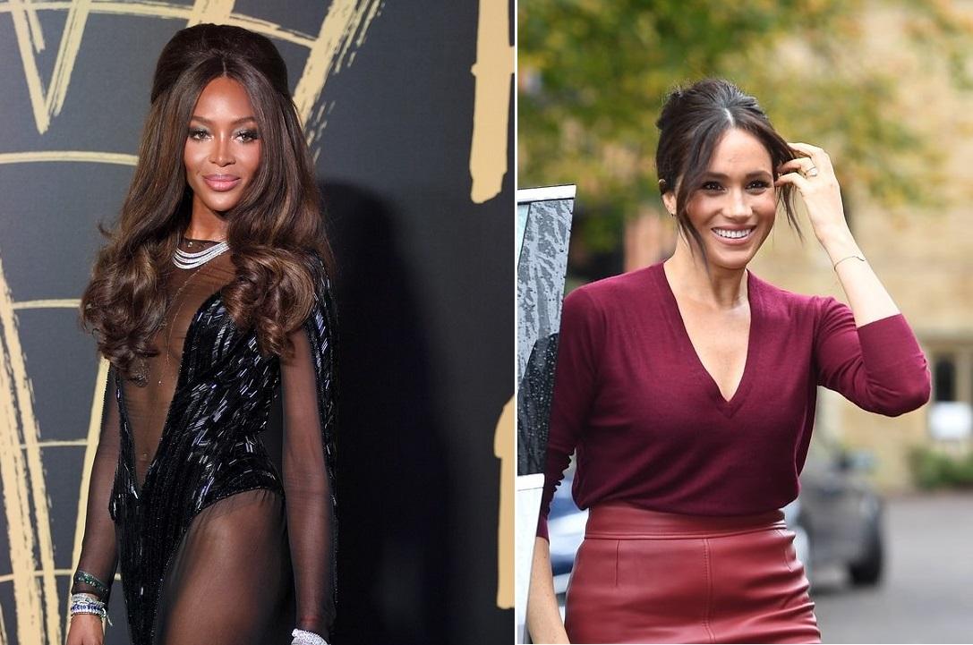Меган Маркл и Наоми Кэмпбелл: Vogue назвал самых элегантных женщин 2019...