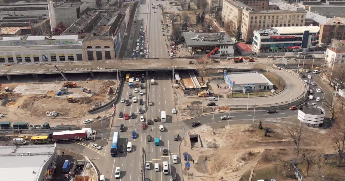 В Киеве проспект Победы будет частично закрыт почти до конца весны-2020