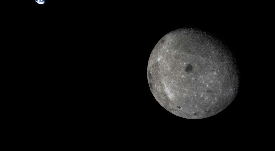 Китай решил построить базу на Южном полюсе Луны