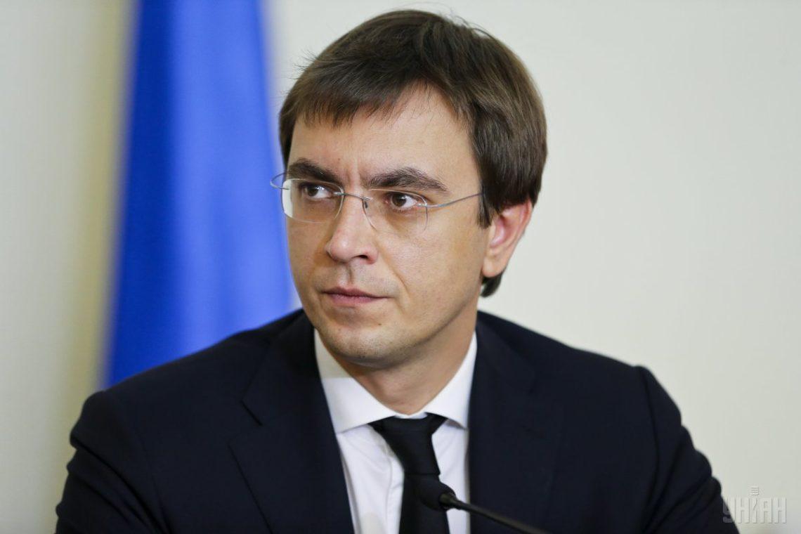 Омелян против переговоров с Россией о возобновлении авиасообщения