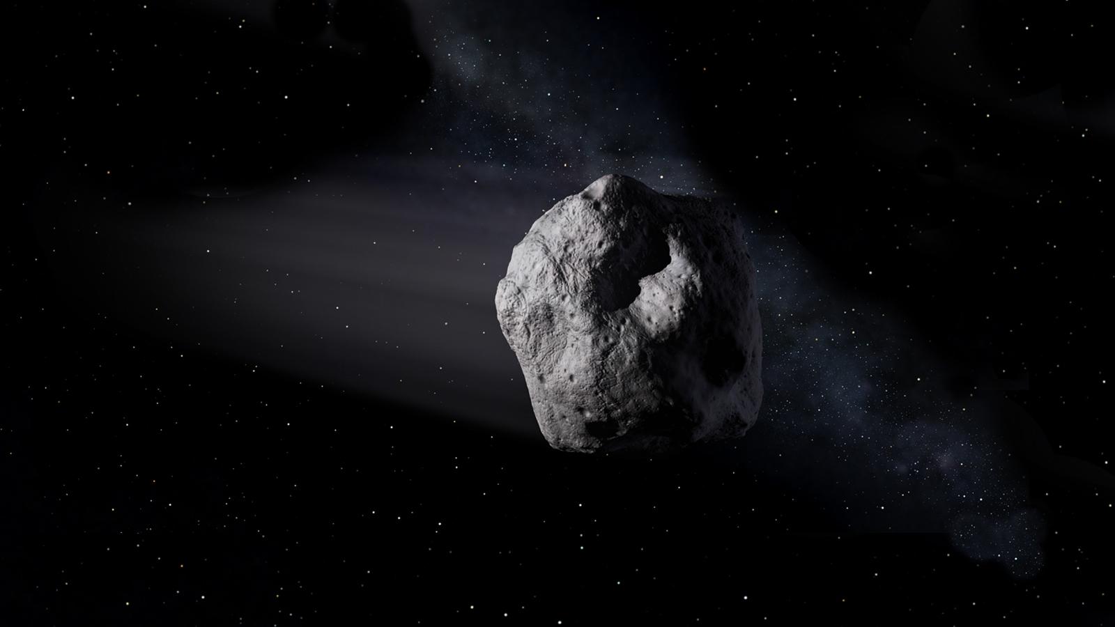 NASA предупредило о приближении астероида размером с пирамиду Хеопса