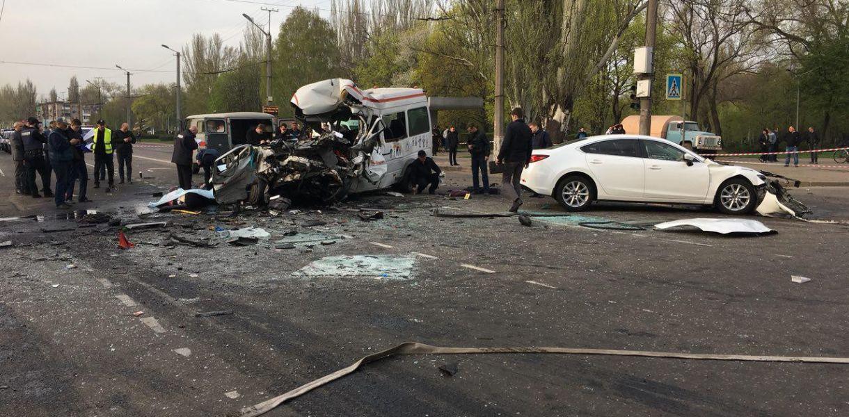 Количество погибших в ДТП в Кривом Роге возросло до 10 человек