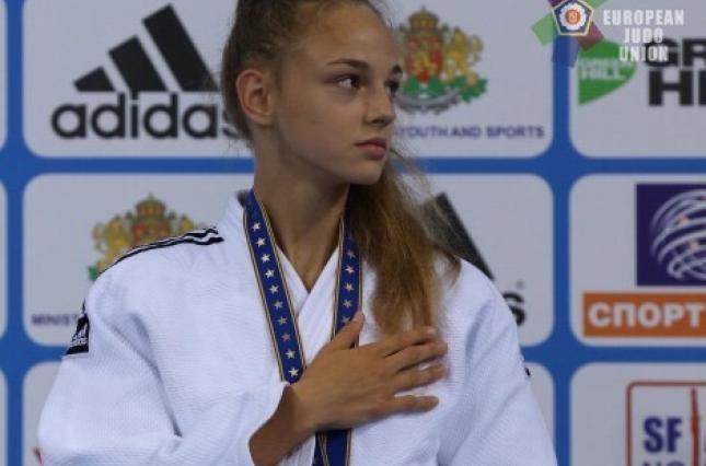 Украинка Дарья Белодед выиграла чемпионат мира по дзюдо