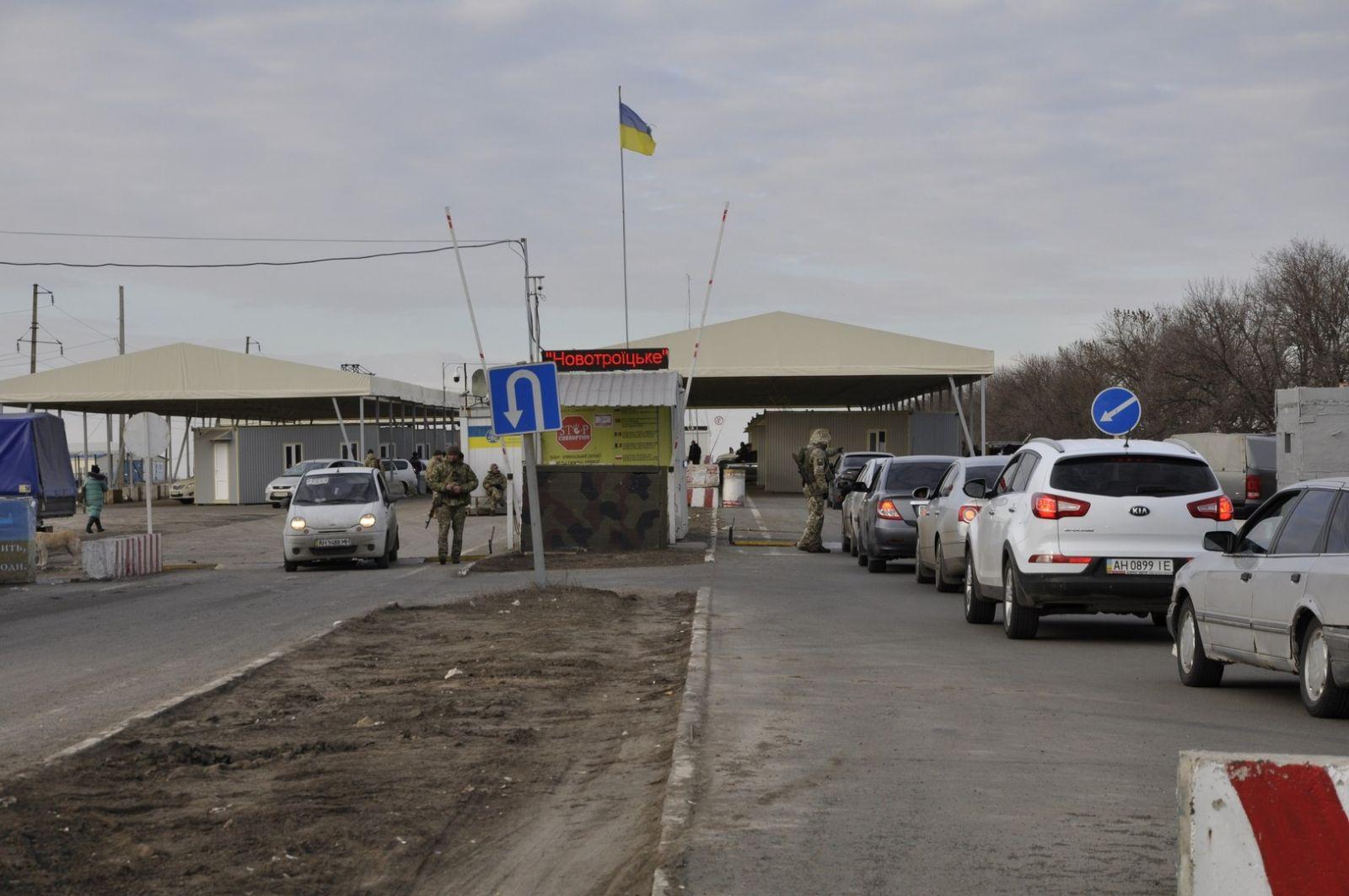 КПВВ на Донбассе переходят на весенний график работы