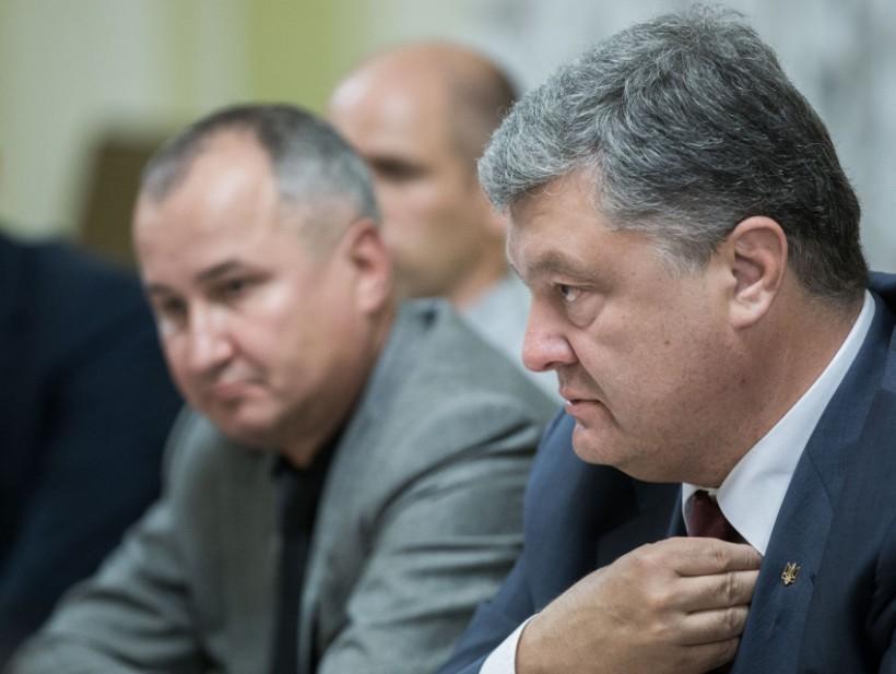 Порошенко встретился с семьями украинцев, находящихся в плену у боевиков