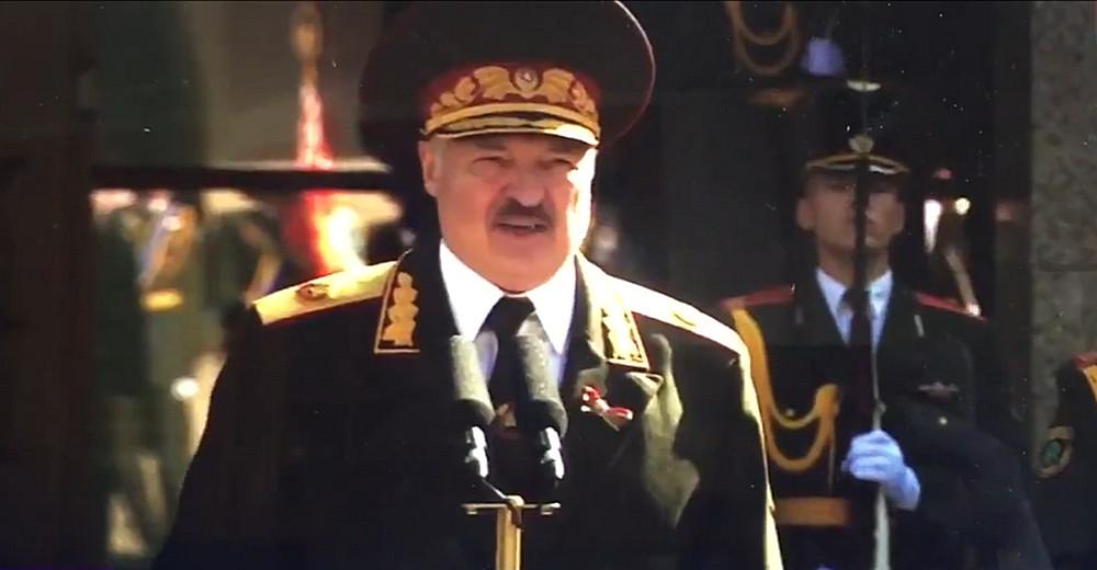 """По белорусскому ТВ показали """"тайную"""" церемонию инаугурации Лукашенко"""