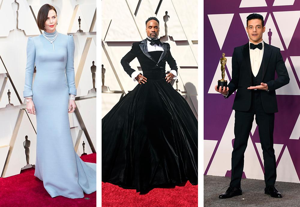 """""""Оскар"""" закрытых декольте и Билли Портер в бальном платье. Чем отличилас..."""