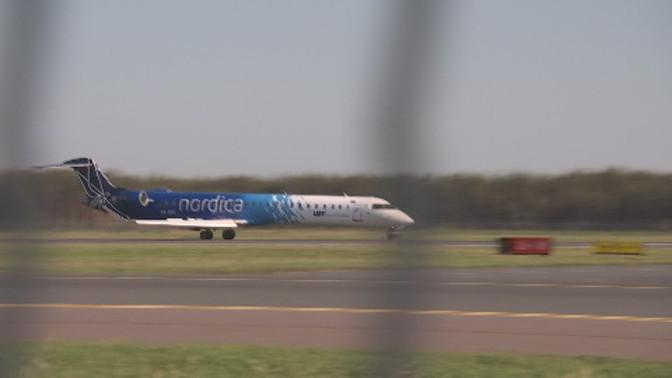В Таллине совершил экстренную посадку самолет, летевший из Киева