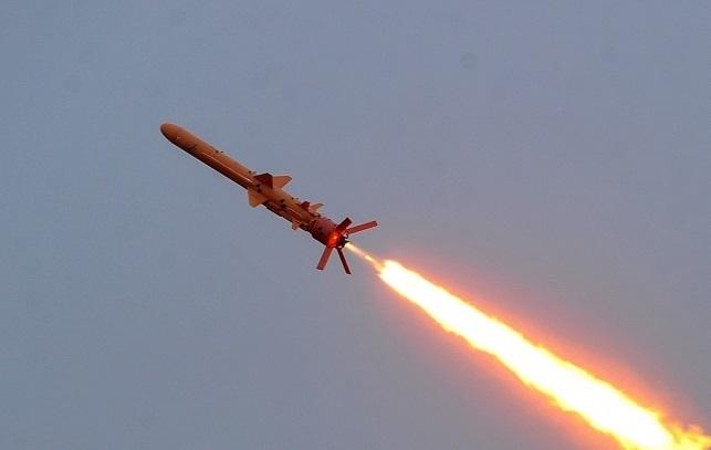 Военные на полигоне испытали крылатую ракету Нептун