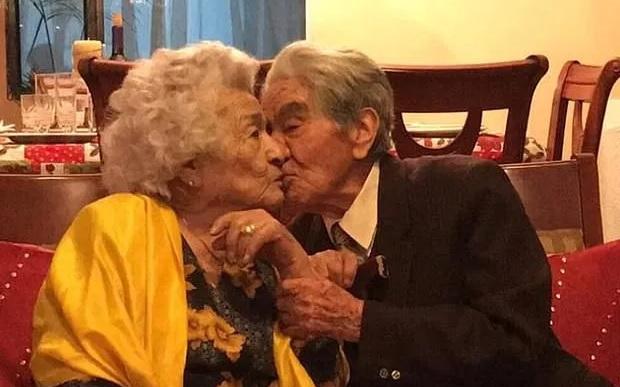 Супружеская пара из Эквадора, прожившая вместе 79 лет, признана старейше...