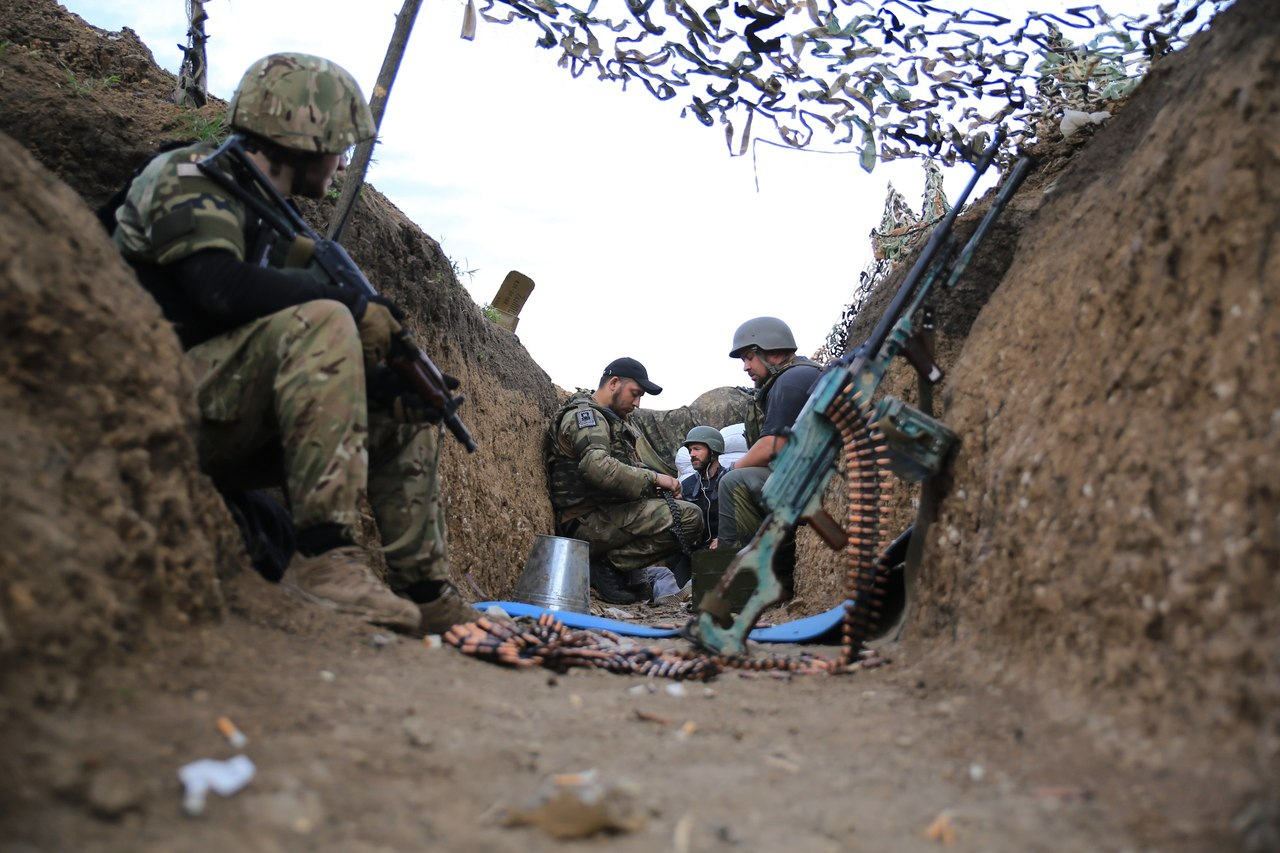 "АТО: Боевики ""отпраздновали"" День флага залпами из артиллерии"