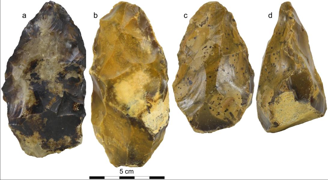 Во Франции нашли каменные топоры возрастом 670 тыс. лет