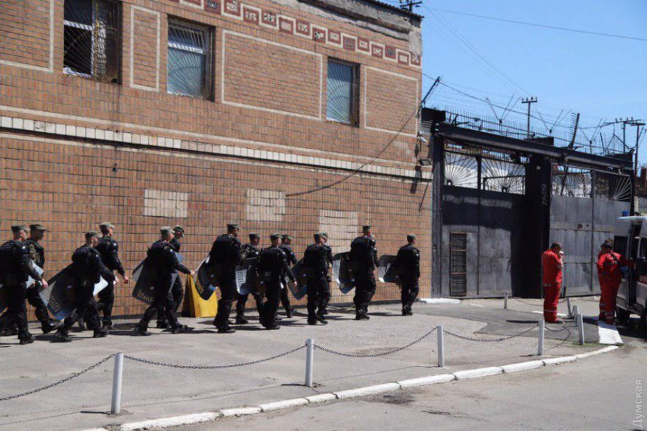 Из одесской колонии после бунта начали этапирование заключенных
