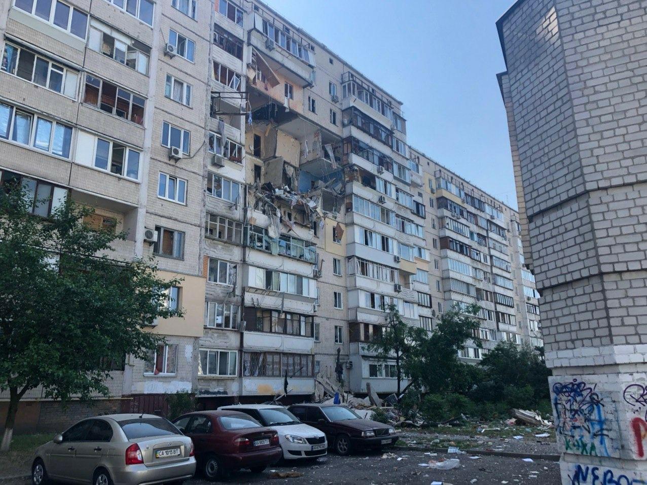 В Киеве на проспекте Григоренко прогремел взрыв