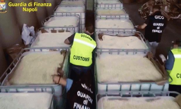 В Италии изъяли 14 тонн наркотиков ИГИЛ на 1 млрд евро