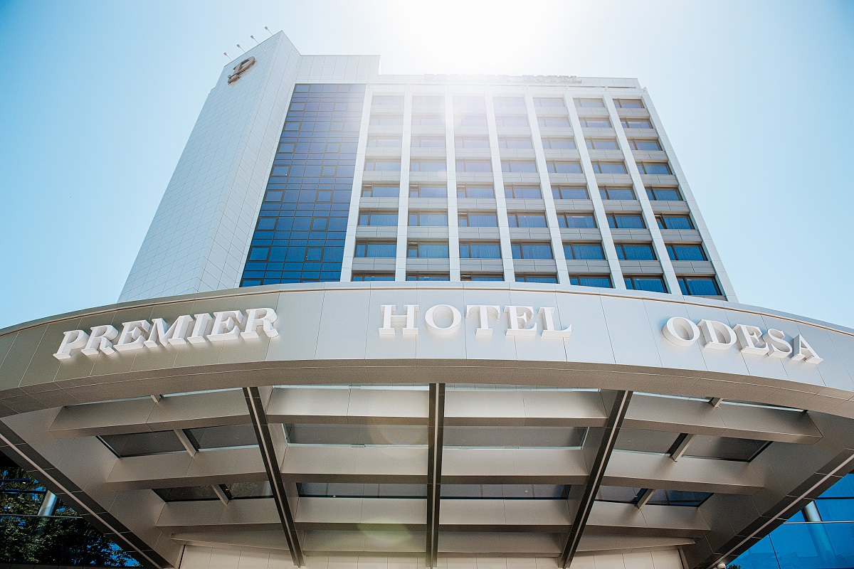 Открытие PREMIER HOTEL ODESA