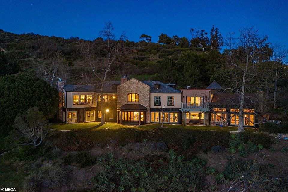 особняк, дом в лос-анджелесе, дом мела гибсона
