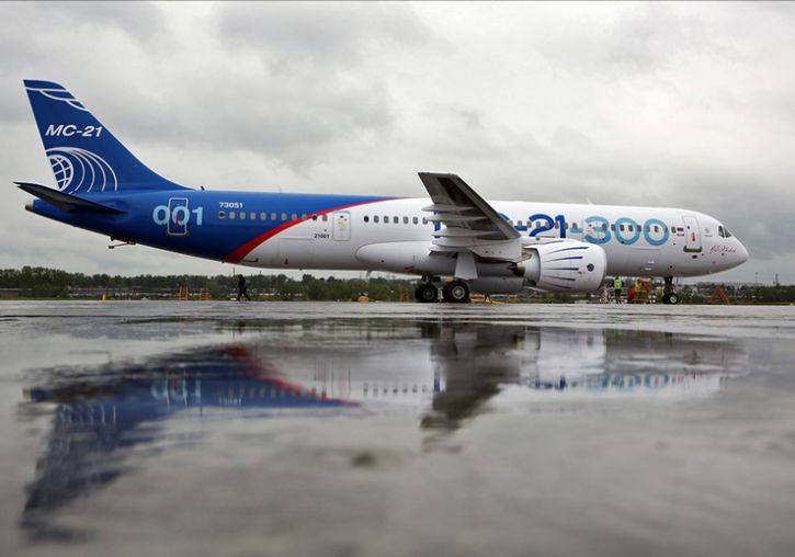 Антироссийские санкции привели к удорожанию крыла самолета МС-21 на 3 мл...