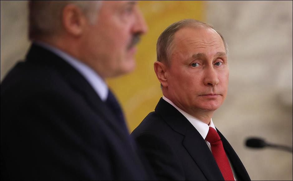 Путин и Лукашенко после пятичасовых переговоров не подписали никаких документов, но встретятся снова