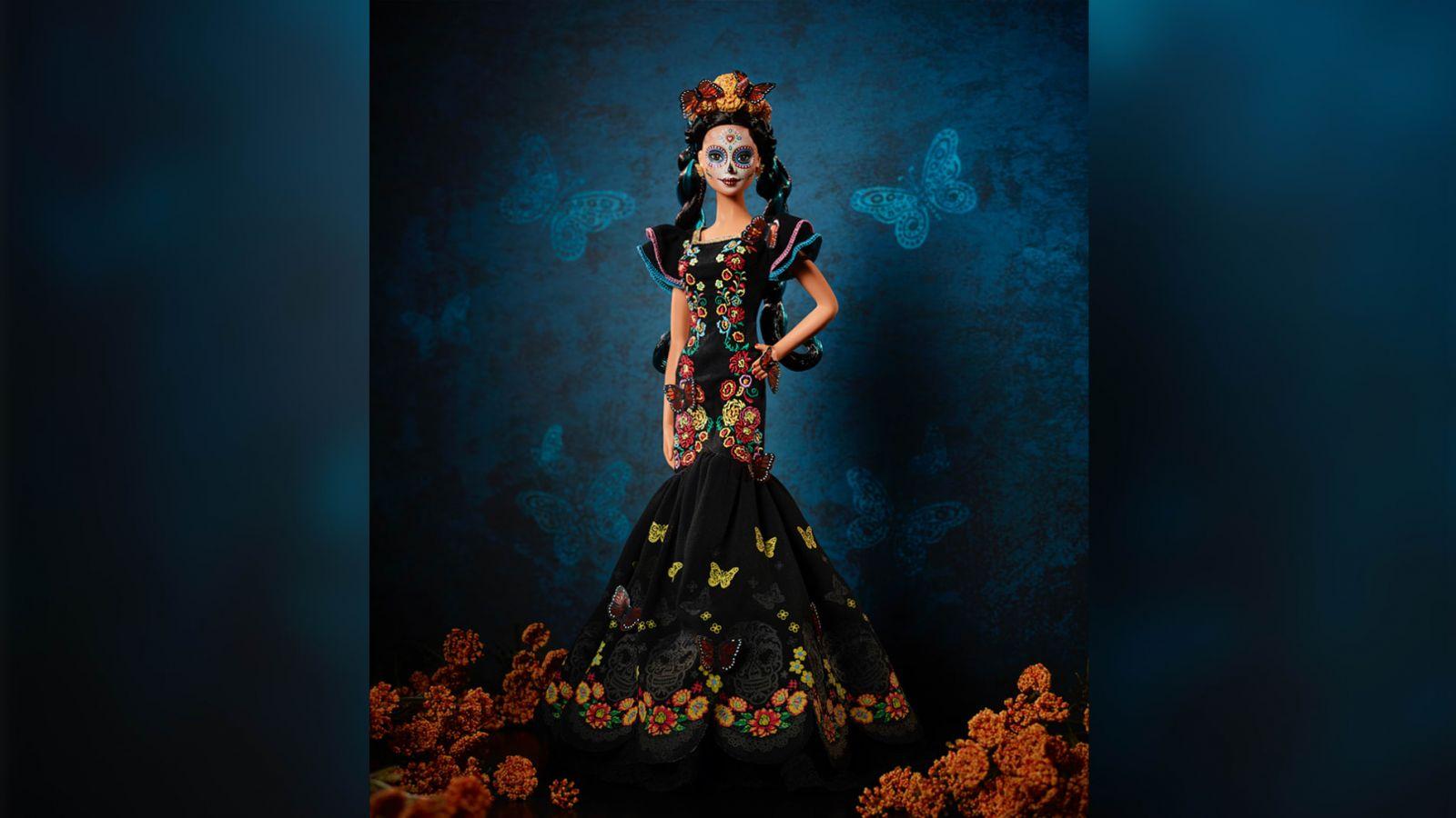 Mattel выпустит зловещую Барби к мексиканскому Дню Мертвых